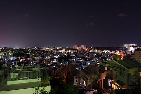 虎瀬公園の夜景