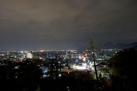 桃陵公園の夜景
