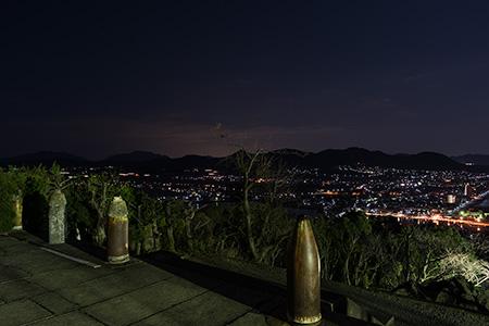 東郷公園の夜景