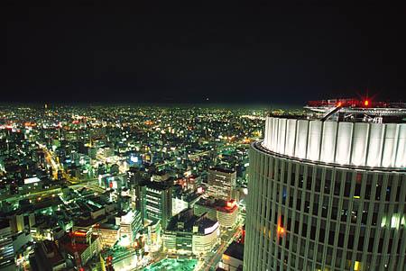 JRセントラルタワーズの夜景