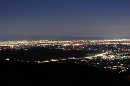 登谷山の夜景