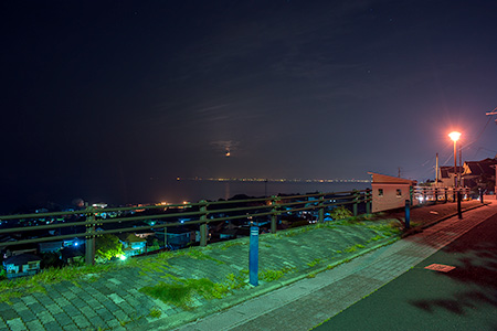 豊海公園の夜景