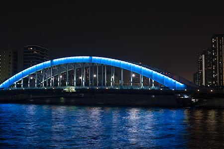 豊海橋の夜景