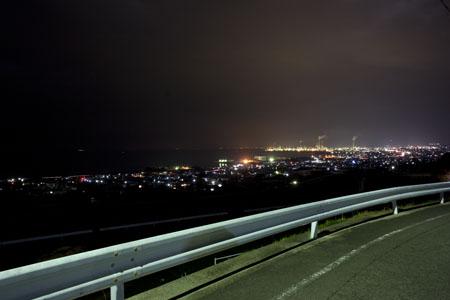 豊岡団地公園の夜景