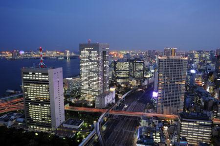 世界貿易センタービル シーサイド・トップの夜景