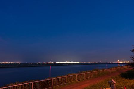 京浜島つばさ公園の夜景