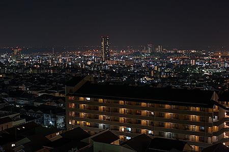 土山町中公園の夜景