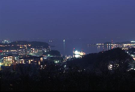 塚山公園の夜景