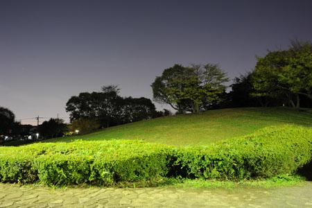 月出松公園の夜景