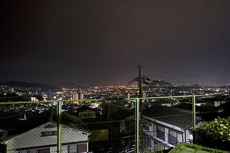 月ヶ丘公園の夜景
