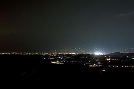 ハーモニックロード 月夜平の夜景