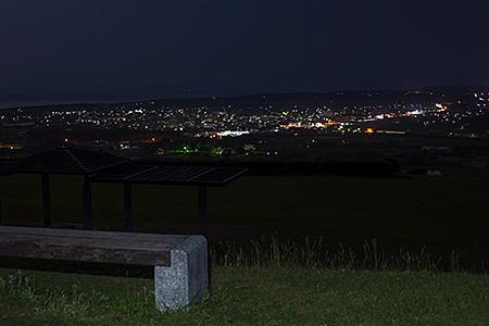 都農ワイナリーの夜景