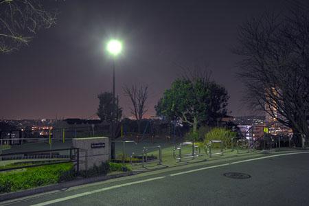 鶴ヶ峰本町第三公園の夜景