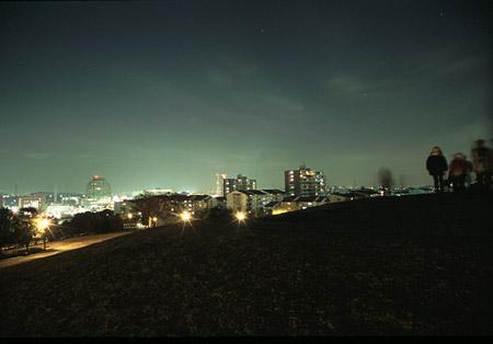 鶴牧東公園の夜景