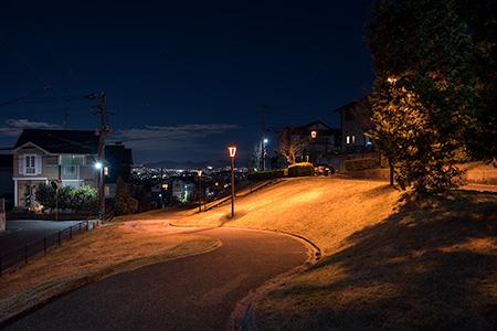 つつじヶ丘の夜景