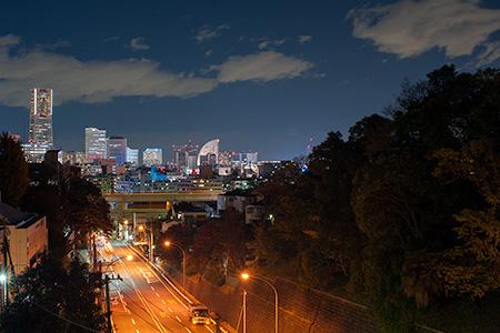 打越橋の夜景
