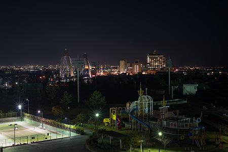 内灘総合公園 円形展望台
