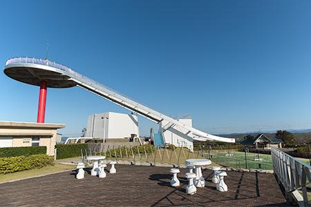 内灘総合公園 円形展望台の夜景