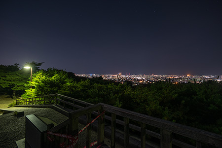 卯辰山 望湖台の夜景