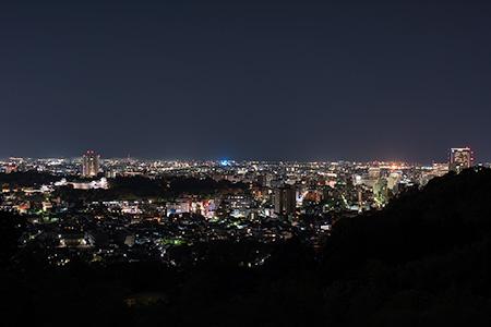 卯辰山 見晴らし台の夜景