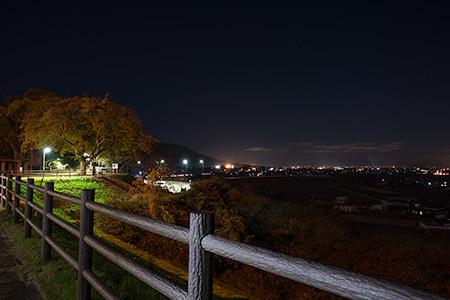 道の駅うきはの夜景