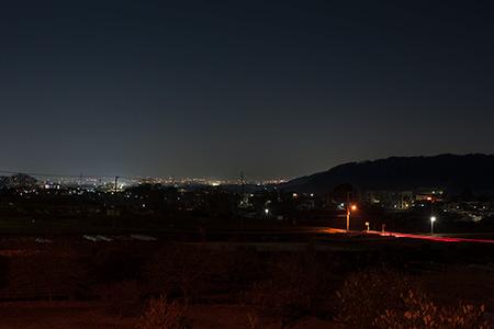 馬込公園の夜景