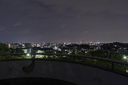 梅園公園の夜景