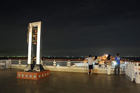 海ほたるPAの夜景