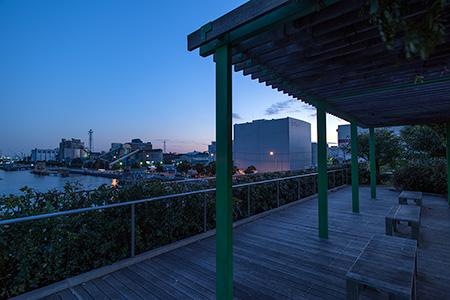磯子・海の見える公園の夜景