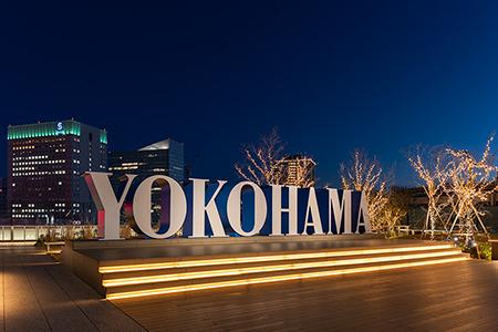 JR横浜タワー うみそらデッキの夜景