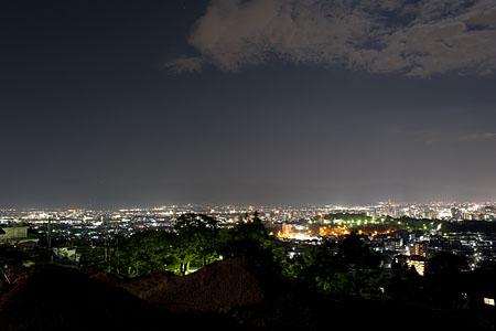 善光寺 雲上殿の夜景