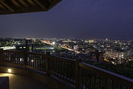 夜景100選「浦添大公園」