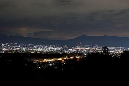 富士川第一公園(うら山公園)の夜景