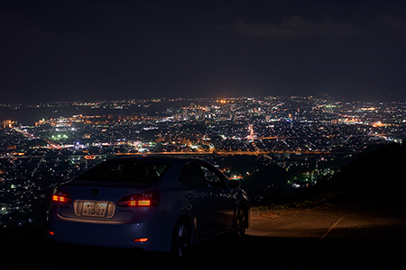 裏山原の夜景