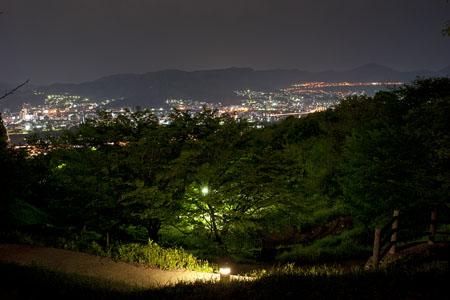 牛田総合公園 見立山の夜景