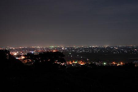 うしづふれあいグリーンパークの夜景