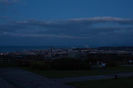有珠山SAの夜景