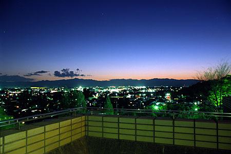 瑞穂ビューパークの夜景