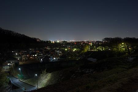 城山若葉台の夜景