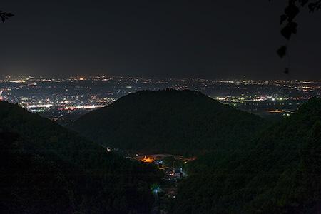 若松観音の夜景