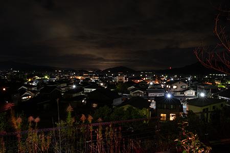 若狭総合公園の夜景