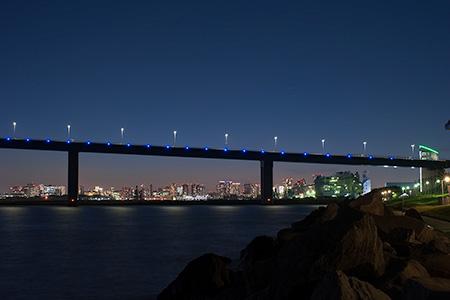 若洲公園の夜景