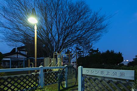 ワシン坂上公園の夜景