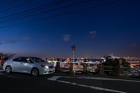 ワシン坂の夜景