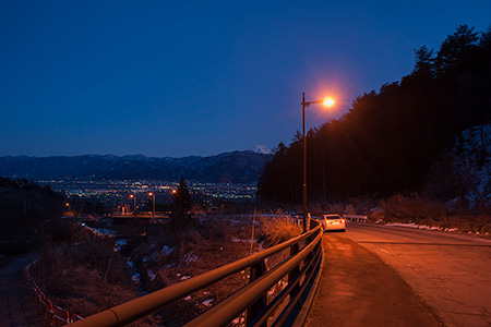 ウエスタンラインの夜景