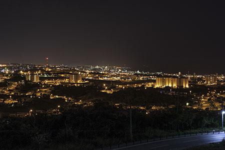 屋宜原の夜景