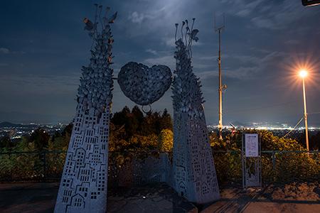 八木山展望台の夜景