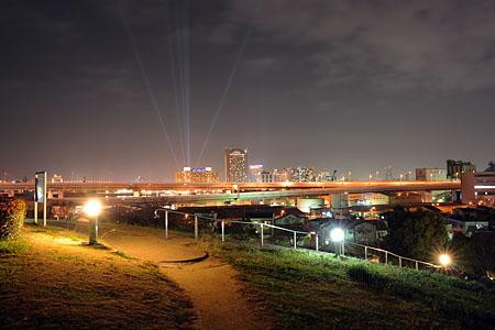 八幡屋公園の夜景