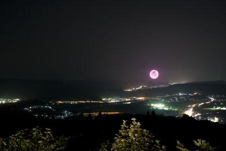 山本山高原の夜景