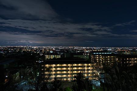 山之手公園の夜景